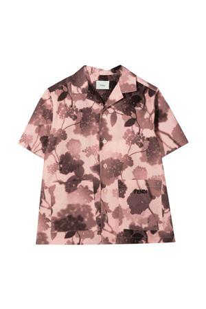 Fendi Kids floral shirt FENDI KIDS | 5032334 | JUC007AEZAF16WG
