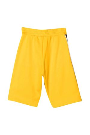 Yellow teen bermuda shorts with logo side bands Fendi kids FENDI KIDS | 5 | JUF018A69DF1BW2T