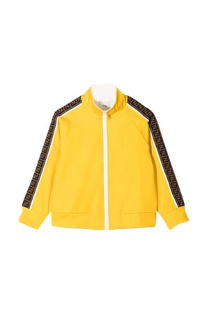 Yellow sweatshirt Fendi Kids  FENDI KIDS | -108764232 | JUH016A69DF1BW2