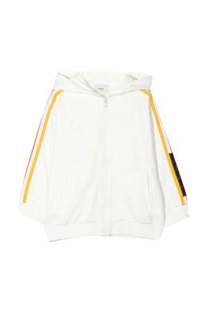 Fendi Kids white sweatshirt  FENDI KIDS | -108764232 | JUH0205V0F1DEQ