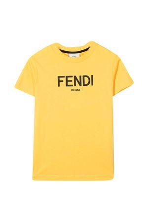 Fendi Kids yellow t-shirt  FENDI KIDS | 8 | JUI026AEXLF1BW2