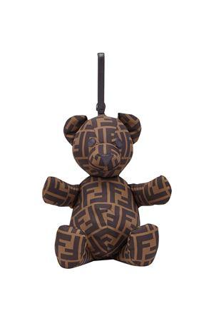 Bag with Fendi kids logo texture FENDI KIDS | 31 | JUZ003A7UIF0B4D