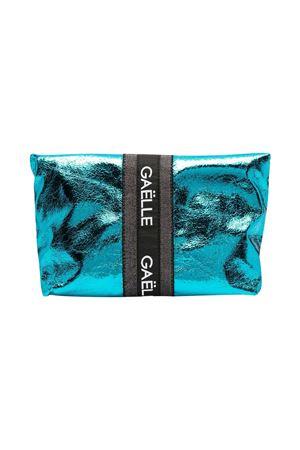 Borsa a spalla con stampa metallizzata Gaelle Gaelle   31   2746BAG0445NORSEBLUET