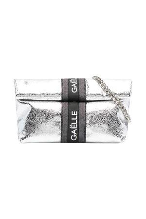 Borsa a spalla con stampa metallizzata Gaelle Gaelle | 31 | 2746BAG0445SILVER