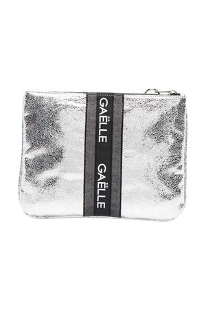 Clutch con stampa Gaelle Gaelle | 31 | 2746BAG0446SILVER