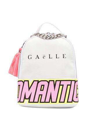 Zaino con stampa Gaelle Gaelle | 5032345 | 2746BP0444WHITET