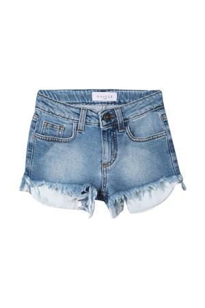 Shorts denim con stampa Gaelle Gaelle | 24 | 2746D0346MEDIUMBLUE