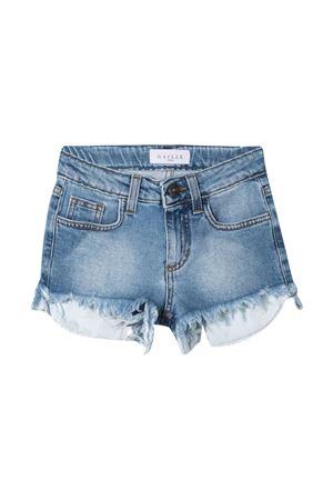 Shorts teen denim con stampa Gaelle Gaelle | 24 | 2746D0346MEDIUMBLUET