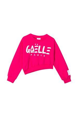 Felpa teen crop con stampa Gaelle Gaelle   19   2746F0428FUXIAT