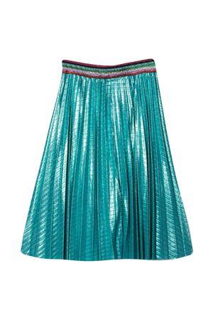 Gaelle metallic pleated midi teen skirt Gaelle | 15 | 2746G0360NORSEBLUET