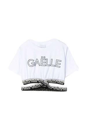 T-shirt with Gaelle print Gaelle | 8 | 2746M0324WHITE