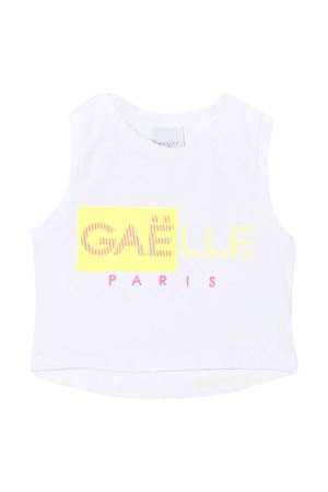 Crop top with Gaelle print Gaelle | 8 | 2746M0333WHITE