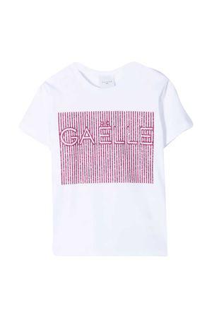 T-shirt con dettagli glitter Gaelle Gaelle | 8 | 2746M0355WHITE