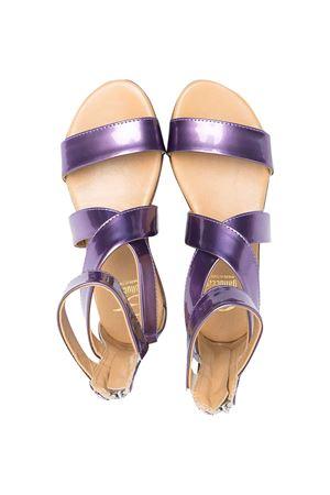 Metallic purple sandals teen Gallucci kids  Gallucci   5032315   J00933AMAXP4001T