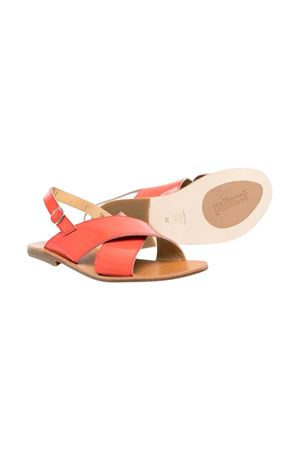 Gallucci Kids red teen sandals  Gallucci | 5032315 | J10087AT053300T