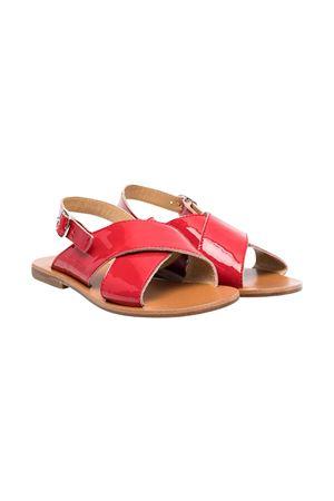 Sandali rossi teen Gallucci Gallucci | 5032315 | J10087AT053350T