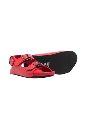 Gallucci Kids red teen sandals Gallucci | 5032315 | J10090AMAND842T