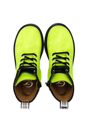 Gallucci Kids green combat boots Gallucci | 76 | J30067AMAY5200
