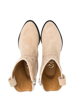 Teen Gallucci beige cowboy boots Gallucci | 76 | J30080AMB0F538T