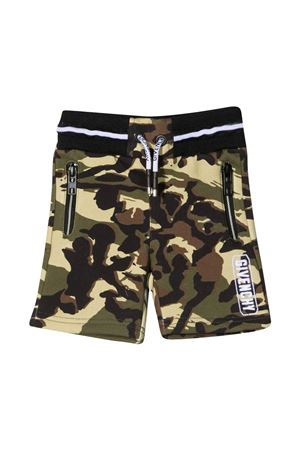 Sports shorts Givenchy kids with camouflage print Givenchy Kids | 30 | H0409964H