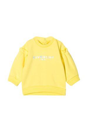 Felpa gialla Givenchy Kids Givenchy Kids | -108764232 | H05167508