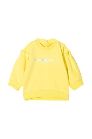 Yellow Givenchy Kids sweatshirt  Givenchy Kids | -108764232 | H05167508