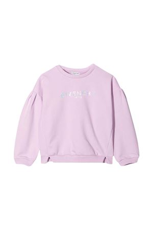 Givenchy Kids purple teen sweatshirt  Givenchy Kids | -108764232 | H15193929T