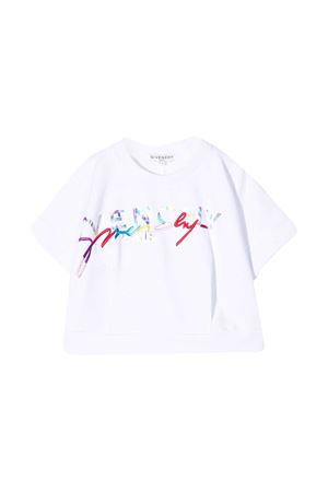 T-shirt con stampa Givenchy kids Givenchy Kids | -108764232 | H1519610B