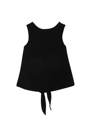 Canotta nera teen Givenchy kids Givenchy Kids | 485524886 | H1519809BT
