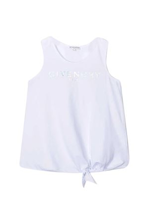Canotta con stampa Givenchy kids Givenchy Kids | 485524886 | H1519810B