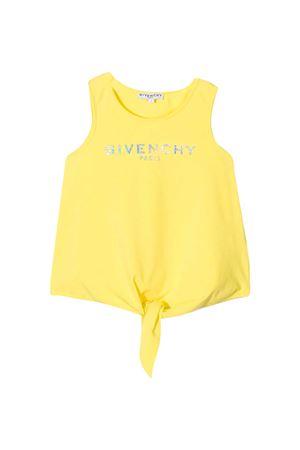 Canotta gialla Givenchy Kids Givenchy Kids | 485524886 | H15198508