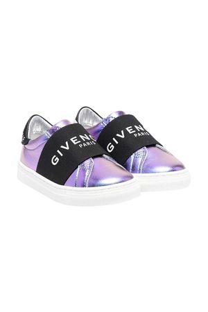 Givenchy Kids metallic sneakers  Givenchy Kids | 90000020 | H19041Z40