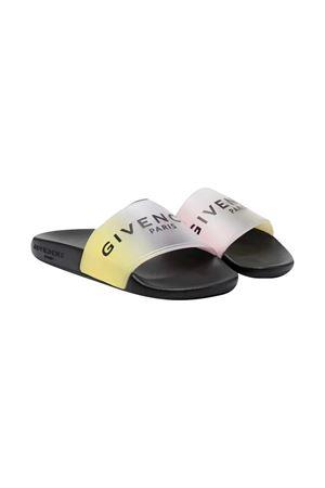 Ciabatte con stampa Givenchy kids Givenchy Kids | 11041766 | H19043Z40