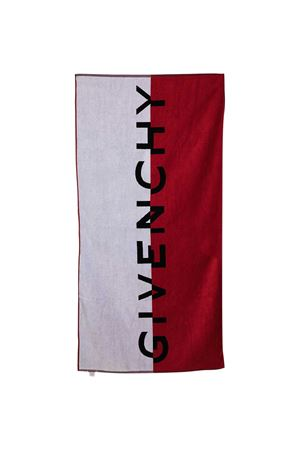 Asciugamano con stampa Givenchy kids Givenchy Kids | 5032317 | H20042N79