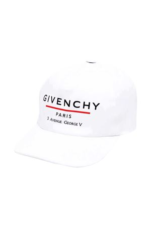 Cappello bianco Givenchy Kids Givenchy Kids | 75988881 | H2104310B