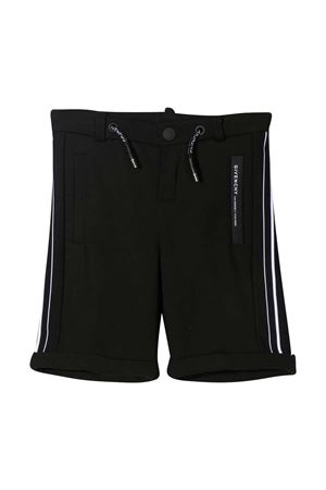 Black Givenchy Kids shorts  Givenchy Kids | 5 | H2411009B
