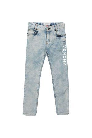 Jeans con stampa Givenchy kids Givenchy Kids   9   H24111Z04