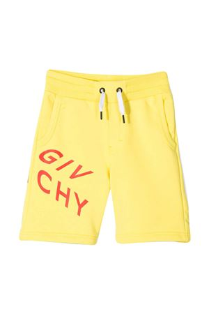 Givenchy Kids yellow teen bermuda shorts  Givenchy Kids | 5 | H24119508T