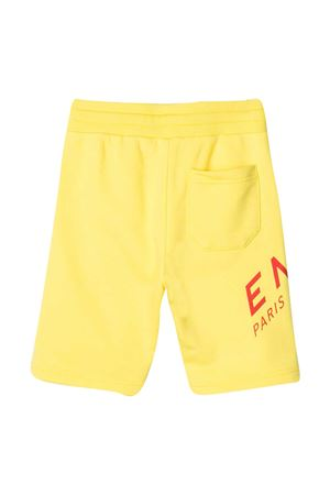 Yellow Givenchy Kids bermuda shorts  Givenchy Kids | 5 | H24119508