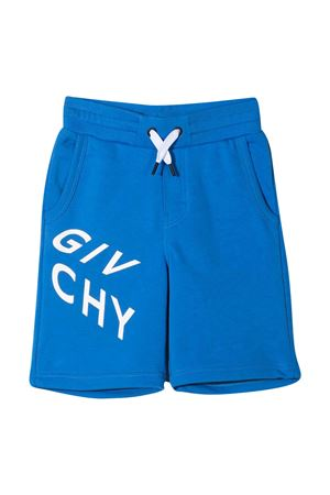 Blue Givenchy Kids bermuda shorts  Givenchy Kids | 5 | H24119816