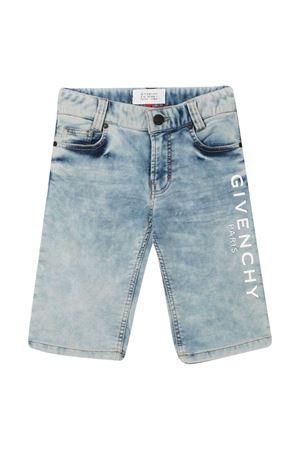 Shorts denim con stampa Givenchy kids Givenchy Kids | 5 | H24124Z04