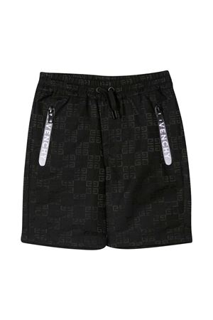 Black bermuda shorts teen Givenchy kids  Givenchy Kids | 5 | H2412709BT