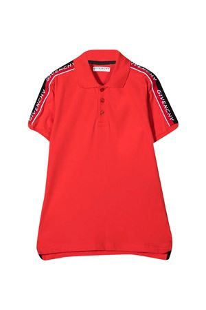 Polo con applicazione Givenchy kids Givenchy Kids | 2 | H25237991