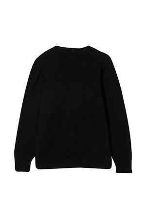 Maglione a girocollo con effetto jacquard Givenchy kids Givenchy Kids | -1384759495 | H2523809B