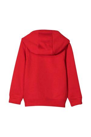 Felpa teen rossa con logo bianco e cappuccio Givenchy kids Givenchy Kids | -108764232 | H25239991T