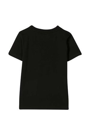 T-shirt nera con stampa bianca Givenchy kids Givenchy Kids | 8 | H2524509B