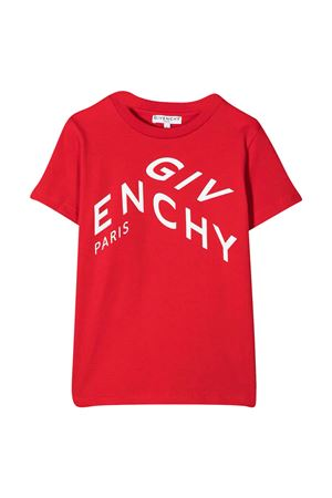 T-shirt rossa Givenchy kids Givenchy Kids | 8 | H25245991