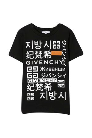 T-shirt nera Givenchy Kids Givenchy Kids | 8 | H2525109B