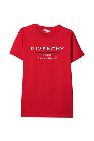 T-shirt rossa teen Givenchy kids Givenchy Kids | 8 | H25253991T