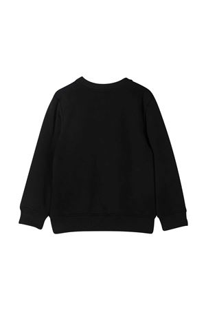 Black sweatshirt with golden logo Givenchy kids Givenchy Kids | -108764232 | H2525909B